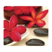 Mausmatte Fellowes, aus 95% recycelten Gummireifen, Motiv Blumen