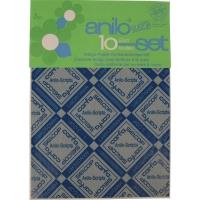Kohlepapier Carfa Indigo A4, für Handschrift, blau, Packung à 10 Blatt