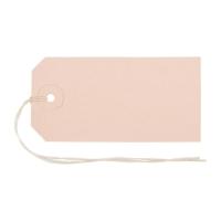 Anhänge-Etiketten Biella Manila 561100, 50x100 mm, braun, Bund à 50 Stück