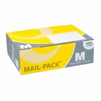 Versandschachtel Nips Mail-Pack M 28833.70, 325x105x240 mm, gelb/grau