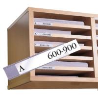 Etiketten-Halter 3L Label Holders 15x150 mm, Beutel à 10 Stück