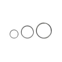 Schlüssel-Ringe Alco, 25 mm, vernickelt, Packung à 100 Stück
