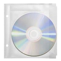 CD/DVD Zeigbuchtaschen Favorit, für 1 CD/DVD, transparent, Packung à 10 Stück