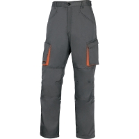 Arbeitshose Deltaplus M2PAN, Grösse M, 65% Polyester 35% Baumwolle, grau