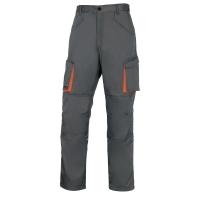 Arbeitshose Deltaplus M2PAN, Grösse L, 65% Polyester 35% Baumwolle, grau
