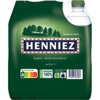 Henniez grün Mineralwasser mit wenig Kohlensäure 50 cl, Packung à 6 Flaschen