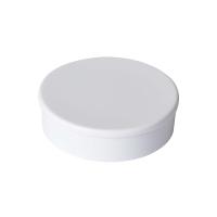 Haft-Magnet Berec, mit Kunststoffkappe, rund, 30 mm, weiss, Packung à 10 Stück
