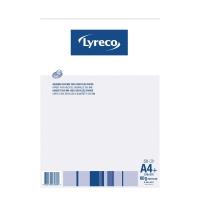 Notizblock Lyreco Recycling A4, 60 g/m2, 5 mm kariert, 50 Blatt