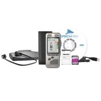 Diktiergerät Philips Pocket Memo DPM7200 plus Fusspedal und Kopfhörer LFH7177