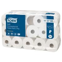 Toilettenpapier Tork 110782, 3-lagig, Packung à 30 Rollen