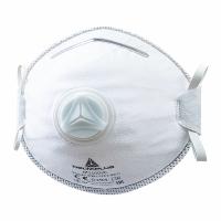 Atemschutzmaske Deltaplus M1100VC, Typ FFP1, mit Ausatemventil, Pk. à 10 Stk.