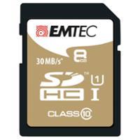 SD-Speicherkarte Gold Emtec, Class 10, 8 GB