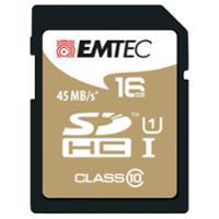 SD-Speicherkarte Gold Emtec, Class 10, 16 GB