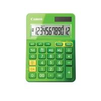 Tischrechner Canon LS-123K, 12-stellige Anzeige, grün