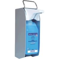 Bode Eurospender 1 Plus Hygiene-Desinfektionshalter,touchless,Wandmontage,silber
