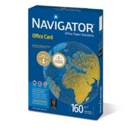 Kopierpapier Navigator Office Card A4, 160 g/m2, FSC, Packung à 250 Blatt