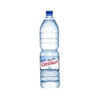 Cristalp Mineralwasser ohne Kohlensäure 1,5 l, Packung à 6 Flaschen