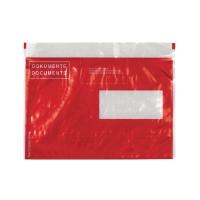 Dokumententasche Elco Vitro 29024.8, C5, Fenster rechts, rot, Pk. à 250 Stk.