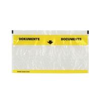Dokumententasche Elco Vitro 29003, C5/6, gelb/transparent, Pk. à 250 Stk.