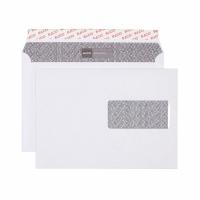 Enveloppes Elco Security, C5, fenêtre à droite, 100 g/m2, blanc
