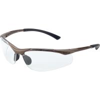 Schutzbrille Bollé CONTOUR, Filtertyp 2C, transparent/braun, Scheibe farblos
