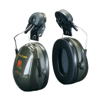 Helm-Kapselgehörschützer, 3M H520P3E Peltor Optime II, 30dB, moosgrün