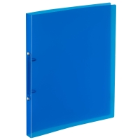 Ringbuch Kolma Easy Soft 02804 A4, 2-Ring, blau/transparent