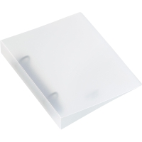 Ringbuch Kolma Easy 0280300 A6, 2-Ring, farblos/transparent