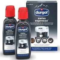 Durgol swiss espresso Spezial-Entkalker, Packung à 2 Flaschen à 125 ml