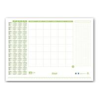Schreibunterlage Ursus Green, 52,5x37,5 cm, Block à 30 Blatt
