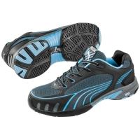 Sicherheitsschuhe Puma Fuse Motion, S1/HRO/SRC, Grösse 37, schwarz/blau, Paar
