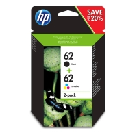 Tintenpatrone HP No.62 N9J71AE, 200 Seiten schwarz, 165 Seiten farbig