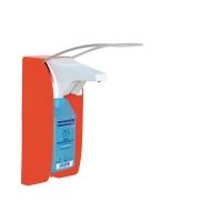 Bode Eurospender 1 plus, für Wand, Signalfarbe rot