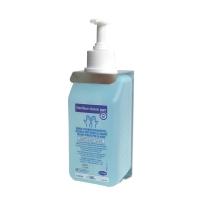 Wandhalter mit Flaschenhalsöffnung, für Händedesinfektionsmittel Sterillium