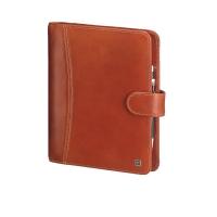 Ringbuch Time/system Business Montana 58017, mit Verschlusslasche, braun