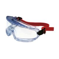Vollsicht Schutzbrille Honeywell V-Maxx, Filtertyp 2, tran/rot, Scheibe farblos