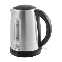 Wasserkocher Melitta Prime Aqua, 1,7 l, silber/schwarz