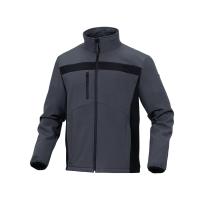 Softshelljacke Deltaplus Lulea2, Grösse XL, polyester/elasthan, grau