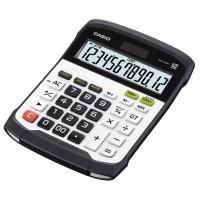 Tischrechner Casio WD-320MT, 12-stellige Anzeige, schwarz/weiss