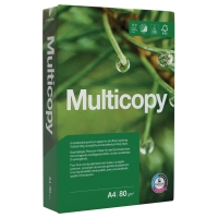 Kopierpapier Multicopy A4, 80 g/m2, FSC, Packung à 500 Blatt