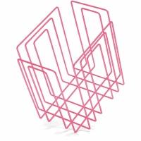 Zeitungssammler Compact, neon pink