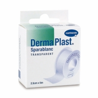 DermaPlast Sparablanc, 5mx2,5 cm, transparent