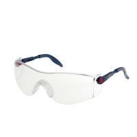 Schutzbrille 3M 2730, Filtertyp 2C, dunkelblau, Scheibe farblos