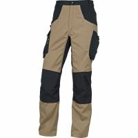 Arbeitshose Deltaplus M5PA2, Baumwolle/Polyester, Grösse L, beige/schwarz