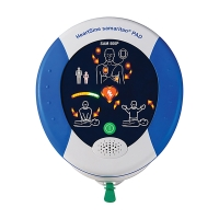 Defibrillator HeartSine AEDs Samaritan PAD 500P, Ansage in Deutsch