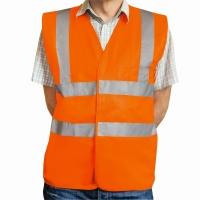 Warnschutzweste Eskon, Klasse 2, Typ EN20471, Grösse S, orange