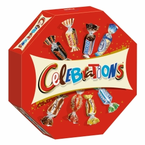 Celebrations, Packung à 385 g