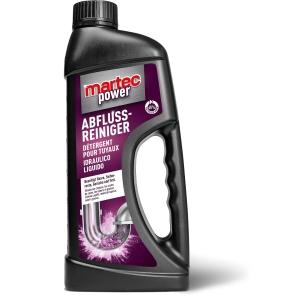 Power Abfluss-Reiniger Martec 33108, Flasche à 1l