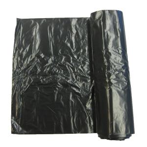 Seitenfaltenbeutel HD/PE LLD/PE TopPac 10237, 10l, schwarz, Rolle à 50 Beutel