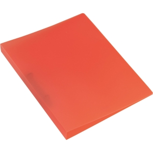 Ringbuch Kolma Easy 0280004 A4, 2-Ring, rot/transparent